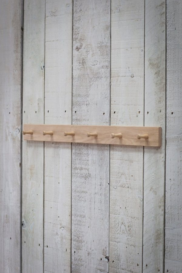 Oak Peg Rail